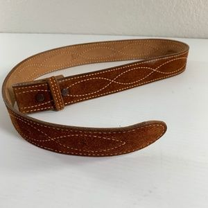 Western Belt Size 36 Brown Leather